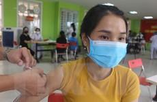 Thành phố Móng Cái tiêm mũi 2 vaccine Vero Cell cho cư dân biên giới