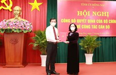 Ông Nguyễn Hồng Lĩnh được chỉ định làm Bí thư Tỉnh ủy Đồng Nai