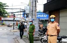 Lực lượng công an vừa chống dịch, vừa ngăn chặn tội phạm