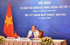 Hội nghị trực tuyến Tư lệnh Hải quân các nước ASEAN lần thứ 15