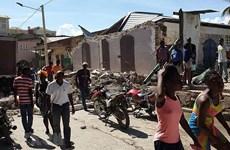 Động đất kinh hoàng ở Haiti, nhiều người mắc kẹt trong đống đổ nát