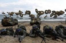 """Tập trận Mỹ-Hàn khiến """"đường dây nóng"""" liên Triều thành """"dây nguội""""?"""