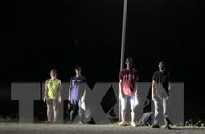 Tây Ninh: Bắt giữ 4 đối tượng nhập cảnh trái phép qua biên giới