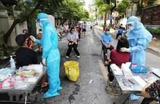Từ 18-20/8, Hà Nội xét nghiệm SARS-CoV-2 cho 13 nhóm nguy cơ cao