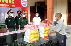 Thắm tình quân dân giữa đại dịch COVID-19 ở Thủ đô Hà Nội