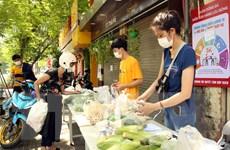 [Photo] Hà Nội sẵn sàng kích hoạt 2.500 điểm bán hàng lưu động