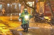 Từ 23/8-1/9, các khu vực mưa dông về đêm, đề phòng thời tiết nguy hiểm