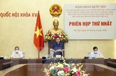 Phiên họp thứ nhất BCĐ Đề án hoàn thiện Nhà nước pháp quyền XHCN