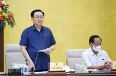 Chủ tịch QH nghe báo cáo công tác chuẩn bị chuyên đề giám sát năm 2022