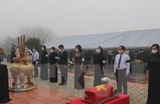 Bình Phước tổ chức truy điệu và an táng 43 hài cốt liệt sỹ