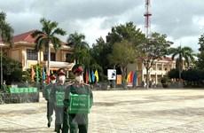 Bà Rịa-Vũng Tàu: Bộ đội trao 1.500 phần quà giúp dân khó khăn do dịch