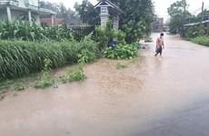 Quảng Trị đến Quảng Ngãi mưa to, lũ từ Thanh Hóa đến Quảng Ngãi