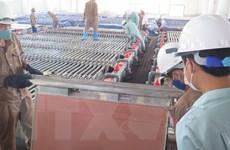 Nhà máy luyện đồng Lào Cai cho ra lò tấn đồng cathode đầu tiên