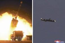 Hàn Quốc, Mỹ chưa công bố chi tiết các vụ thử tên lửa của Triều Tiên