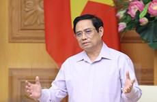 Thủ tướng làm việc với các doanh nghiệp Hàn Quốc ở Việt Nam