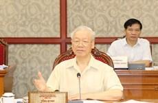 Bộ Chính trị: Chủ động phòng chống dịch, phát triển kinh tế hiệu quả