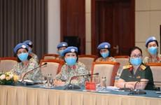 Tạo điều kiện cho phụ nữ tham gia hơn vào hòa bình, an ninh toàn cầu