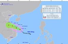 Áp thấp nhiệt đới trên biển Đông đã mạnh lên thành bão số 6
