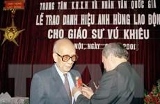 Giáo sư Vũ Khiêu - người đặt nền móng cho ngành xã hội học Việt Nam