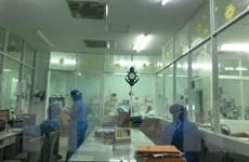 [Photo] Những người chiến sỹ áo trắng nơi tâm dịch Khánh Hòa