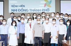Chủ tịch nước biểu dương BV Nhi đồng TP.HCM trong phòng chống COVID-19