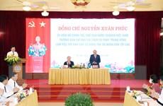 Chủ tịch nước làm việc với Ban Cán sự Đảng Tòa án Nhân dân tối cao