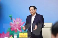 [Photo] Thủ tướng gặp mặt đại diện lực lượng y tế tuyến đầu chống dịch