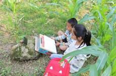 Sóng và máy tính cho em: Cơ hội học tập cho học sinh vùng cao Lào Cai