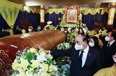 Chủ tịch nước Nguyễn Xuân Phúc viếng Đại lão Hòa thượng Thích Phổ Tuệ