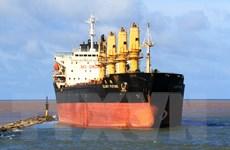 Quảng Trị: Cứu hộ tàu 28.000 tấn mắc cạn ở vùng biển Cửa Việt