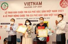 Đắk Lắk: Phát động cuộc thi càphê đặc sản Việt Nam năm 2022