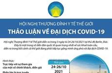 Hội nghị thượng đỉnh y tế thế giới thảo luận về đại dịch COVID-19