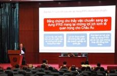 Nhiều doanh nghiệp xa lạ với chuẩn mực báo cáo tài chính quốc tế
