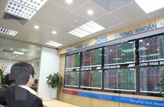 Sắc xanh phủ kín bảng điện tử, VN-Index tăng tốc lên mốc 1.019 điểm