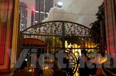 [Video]: Dân hốt hoảng loạn vì lửa cháy nghi ngút tại Đình Tháp