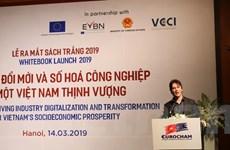 EuroCham đánh giá tích cực về môi trường kinh doanh của Việt Nam