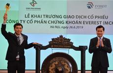 60 triệu cổ phần của Công ty Chứng khoán Everest niêm yết trên HNX