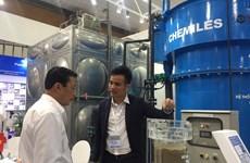 Gần 200 doanh nghiệp 'khoe' công nghệ xử lý nước tiên tiến tại Hà Nội