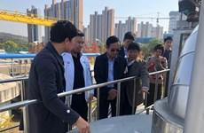 Hàn Quốc chuyển giao công nghệ xử lý nước thải cho Tập đoàn Sơn Hà