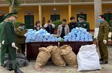 Hải quan bắt giữ nhiều vụ buôn lậu khẩu trang y tế không rõ nguồn gốc