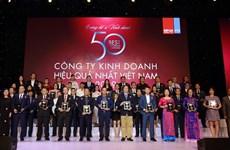 BMP 9 năm liền lọt top 50 Công ty Kinh doanh hiệu quả nhất Việt Nam