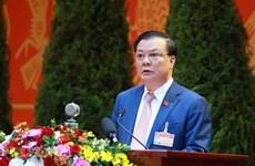 Ông Đinh Tiến Dũng được giới thiệu ứng cử Đại biểu Quốc hội khóa XV