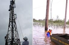 Các nhà mạng gia cố cột thu sóng đối phó siêu bão Haiyan