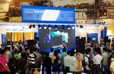 """VNPT """"khoe"""" công nghệ, dịch vụ ở Vietnam Telecomp"""