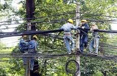 Tiến hành rà soát toàn bộ hệ thống cáp treo trên cột điện