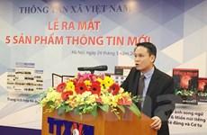 TTXVN đồng loạt cho ra mắt năm sản phẩm thông tin mới