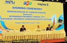 FPT xây dựng hệ thống chuyển mạch tài chính cho Myanmar