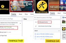 """Thế giới di động """"tố"""" fanpage giả mạo, lừa người tiêu dùng"""