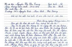 Bức thư hay nhất thế giới năm 2016 của học sinh Việt do UPU chọn