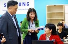 Samsung tài trợ phòng học và thực hành tại Đại học Thủy lợi